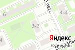 Схема проезда до компании Цифрарт в Москве