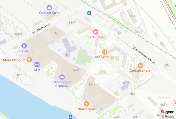 жилой комплекс Сердце Столицы