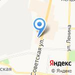 Экспресс-ком на карте Щёкино