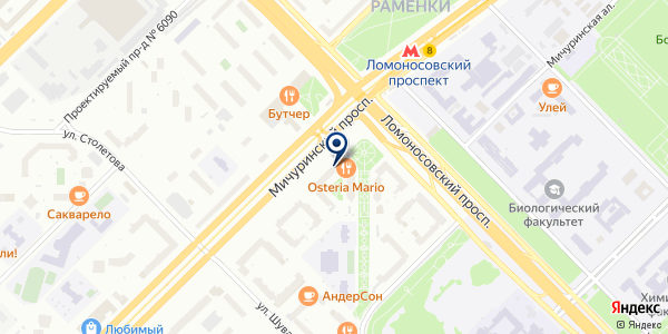 SVOY PUB на карте Москве