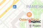 Схема проезда до компании Стройбурсервис в Москве