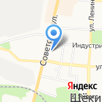 Магазин штор и карнизов на карте Щёкино