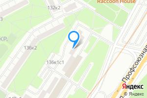 Однокомнатная квартира в Москве Профсоюзная ул., 136к1