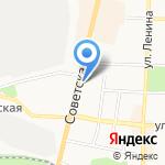 Магазин отделочных материалов на карте Щёкино