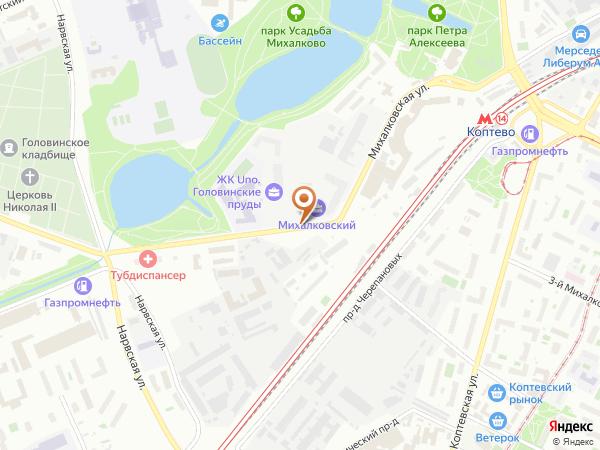 Остановка Электромеханический колледж в Москве