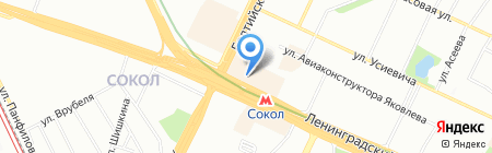 Ассоль на карте Москвы