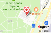 Схема проезда до компании Претекст в Москве
