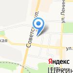 Магазин электротоваров на карте Щёкино