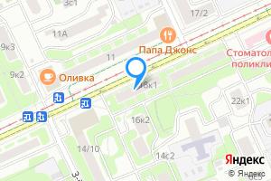 Однокомнатная квартира в Москве ул. Зои и Александра Космодемьянских, 18к1