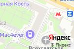 Схема проезда до компании Stark-service в Москве