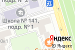Схема проезда до компании 4RIVER в Москве