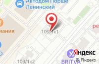 Схема проезда до компании Полиандр в Москве