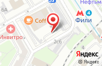 Схема проезда до компании Акцент-Про в Москве