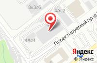 Схема проезда до компании Космопроф М в Москве