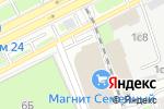 Схема проезда до компании Наша сеть в Москве