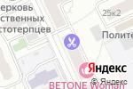 Схема проезда до компании Jeffrey в Москве