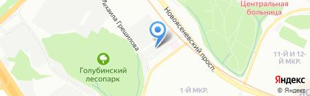 Бюро Доставки на карте Москвы