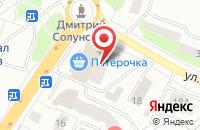 Схема проезда до компании Сфера в Дмитрове