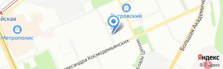 Смайк Сервис на карте Москвы