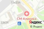 Схема проезда до компании СМ-Пластика в Москве