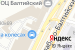 Схема проезда до компании Гравер-Р в Москве