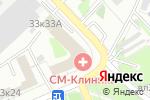 Схема проезда до компании СМ-Стоматология в Москве