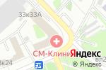 Схема проезда до компании Новофарм Плюс в Москве