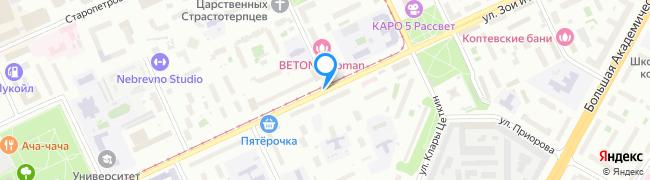улица Зои и Александра Космодемьянских