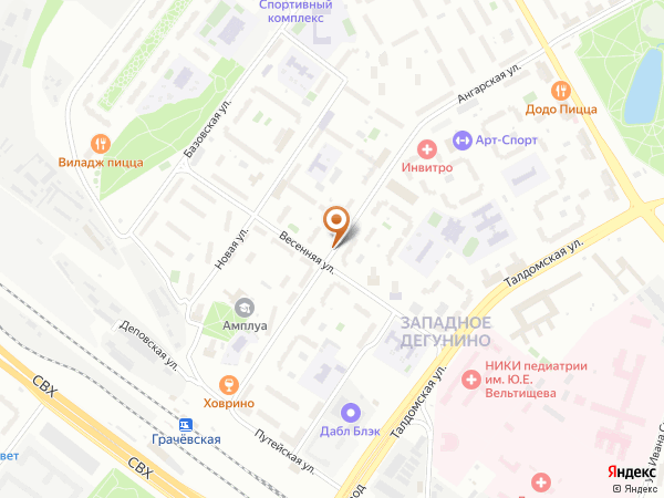 Остановка Весенняя ул. в Москве
