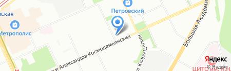 Гермес на карте Москвы