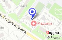 Схема проезда до компании НОТАРИУС БАЖУЛИНА С.А. в Москве