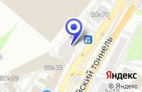 Схема проезда до компании САЛОН МЕБЕЛИ ANGELINA в Москве