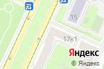 Схема проезда до компании Контур в Москве