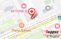 Схема проезда до компании Геомон в Москве