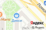 Схема проезда до компании GOLG в Москве