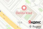 Схема проезда до компании Ирис+ в Москве