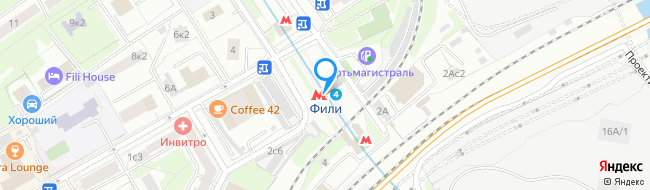 метро Фили