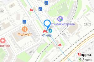 Двухкомнатная квартира в Москве м. Фили, метро Фили