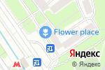 Схема проезда до компании Agentprovocateurmazzy.ru в Москве