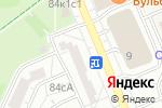Схема проезда до компании ТелеЭксперт в Москве