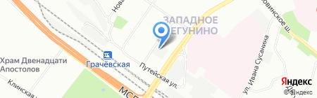 Гидрокомплект на карте Москвы