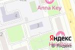 Схема проезда до компании Средняя общеобразовательная школа №1288 с углубленным изучением иностранных языков в Москве