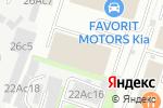Схема проезда до компании Chevrolet FAVORIT MOTORS в Москве