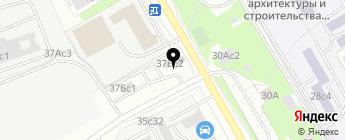 Gb на карте Москвы
