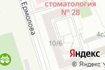 Схема проезда до компании Ассоциация активной помощи престарелым и детям в Москве