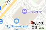 Схема проезда до компании Kurasido в Москве