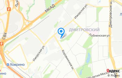 Местоположение на карте пункта техосмотра по адресу г Москва, ш Коровинское, д 46