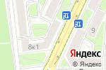 Схема проезда до компании Панасервис в Москве