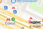 Схема проезда до компании Форнетти в Москве