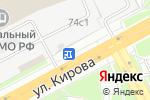 Схема проезда до компании Витязь в Подольске